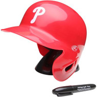 "Philadelphia Phillies Rawlings ""On Field"" Mini replica batting helmet"