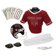 Texas A&M Aggies Franklin Deluxe Youth / Kids Football Uniform Set - Size Small