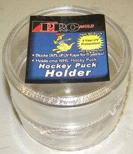 Pro Mold Round Hockey Puck Display Holder, Pack of 2