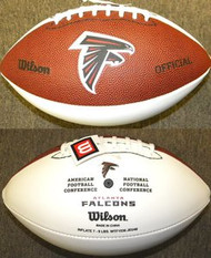 Atlanta Falcons Official Wilson NFL Full Size Signature Model Football