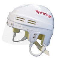 Detroit Red Wings NHL White Player Mini Hockey Helmet