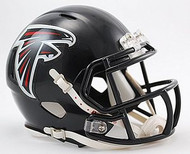 Atlanta Falcons NFL Team Logo Riddell 6-Pack Revolution SPEED Mini Helmet Set