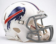 Buffalo Bills NFL Team Logo Riddell 6-Pack Revolution SPEED Mini Helmet Set