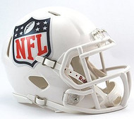 NFL Shield National Football League Logo Riddell 6-Pack Revolution SPEED Mini Helmet Set