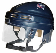 Columbus Blue Jackets NHL Navy Blue Player Mini Hockey Helmet