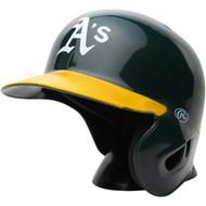 "Oakland A's Rawlings ""On Field"" Mini replica batting helmet"