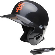 "San Francisco Giants Rawlings ""On Field"" Mini replica batting helmet"