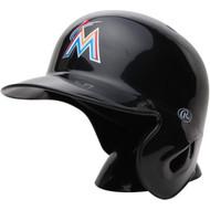 """Miami Marlins Rawlings """"On Field"""" Mini replica batting helmet"""