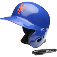"New York Mets Rawlings ""On Field"" Mini replica batting helmet"