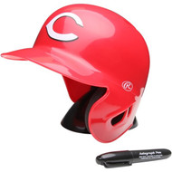 "Cincinnati Reds Rawlings ""On Field"" Mini replica batting helmet"