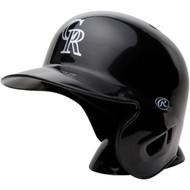 "Colorado Rockies Rawlings ""On Field"" Mini replica batting helmet"