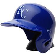 "Kansas City Royals Rawlings ""On Field"" Mini replica batting helmet"