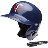 """Minnesota Twins Rawlings """"On Field"""" Mini replica batting helmet"""
