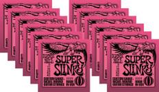 Ernie Ball 2223 Super Slinky Electric Guitar Strings 9-42 Buy 10 Get 2 Free