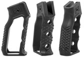 F-1 Firearms Skeletonized Grip - without finger grooves