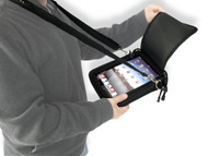 Padded Ballistic Nylon Hybrid Travel Case w/ Strap for iPad 1, iPad 2, iPad 3, iPad 4