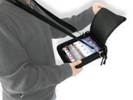 Padded Ballistic Nylon Hybrid Travel Case w/ Strap for iPad Air