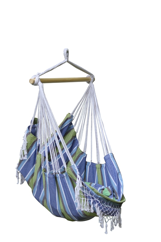 Vivere Brazilian Hammock Chair Oasis Blue Picture 704