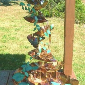 Copper Outdoor Fountains