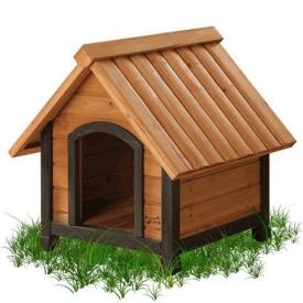 Wood Dog Houses