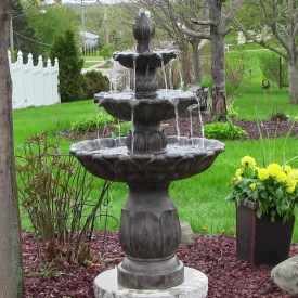 Lightweight Tiered Water Fountains