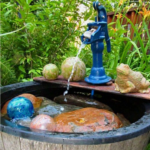 Homemade Garden Fountain Ideas Photograph Outdoor Fountain