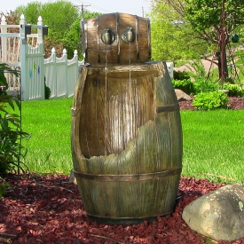 Resin & Fiberglass Garden Fountains