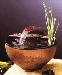 Nature Bowl Tabletop Fountain #601