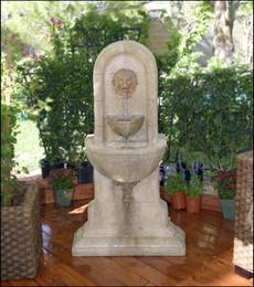 Gist Decor Lion Outdoor Fountain