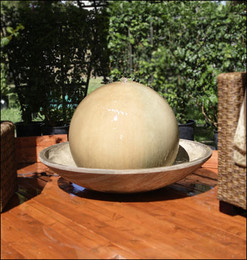 Ball and Wok Water Fountain