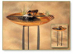 Nature Bowl Tabletop Fountain #605