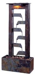 Kenroy Aqueduct Tabletop Fountain - Natural Slate