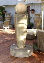 Drum Garden Fountain