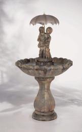 Classic April Showers Cast Stone Fountain by Henri Studio