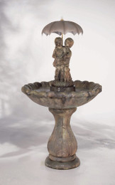 Classic April Showers Cast Stone Fountain by Henri Studio