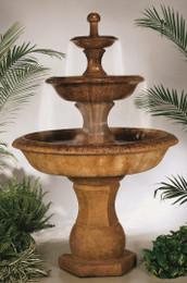 Cast Stone Grande Barrington Fountain by Henri Studio