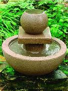 Bowl and Ball Fountain