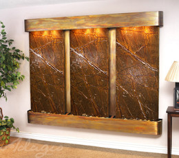 Copper with Brown Marble