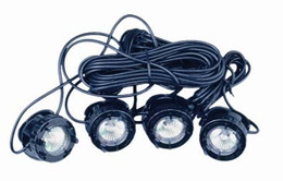 Submersible LED Four Light Kit