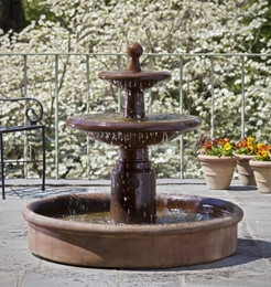 Esplanade Two Tier Fountain by Campania International