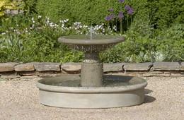 Esplanade Fountain by Campania International