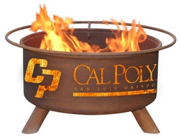 Cal Poly Mustangs Fire Pit