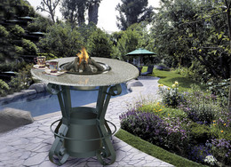 Solano Bar Fire Pit Table by California Outdoor Concepts