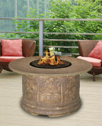 Palm Chat Height Fire Pit by California Outdoor Concepts