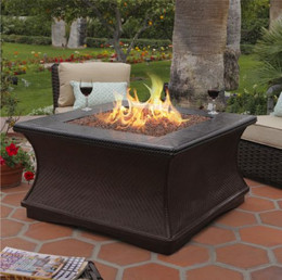 Monterey Chat Height Fire Pit Table by California Outdoor Concepts
