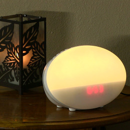 Soleil Sleep Spa Clock