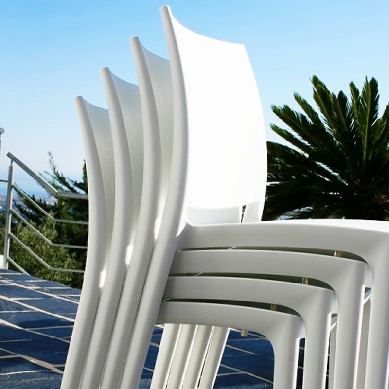 Maya Dining Chair White HWD Picture 328