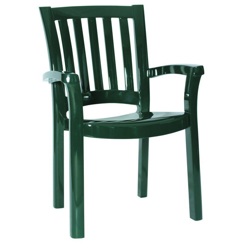 Sunshine Resin Dining Arm Chair Green HD Picture 154