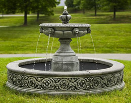 Parisienne One Tier Fountain by Campania International