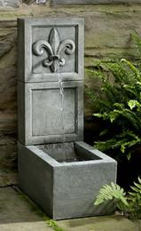Fleur de Lis Element Fountain by Campania International
